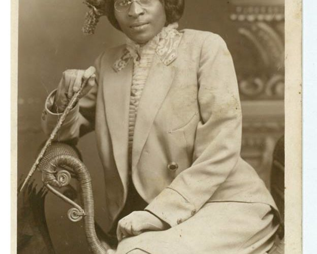 Dr. Charlotte Hawkins Brown, born in Henderson, North Carolina, June 11, 1883. Image is courtesy of André D. Vann